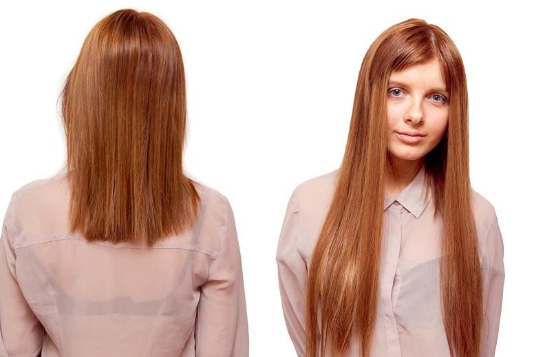 капсульное итальянское наращивание волос