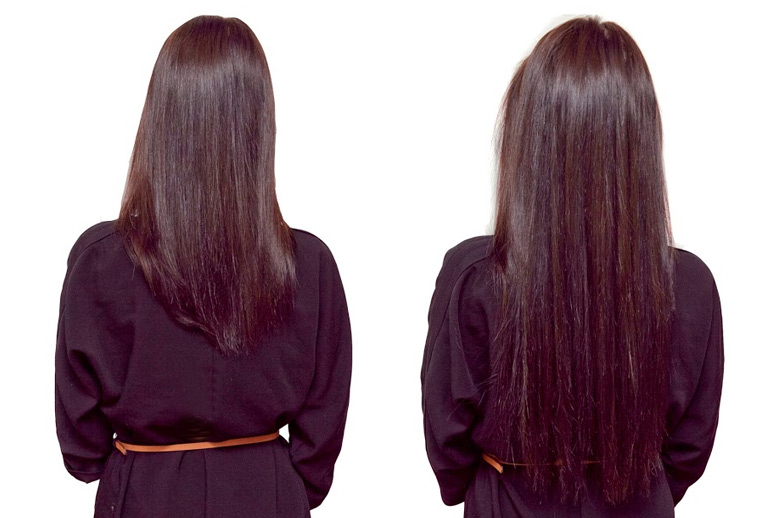 наращивание волос после кератинового выпрямления