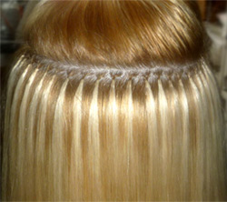 итальянское наращивание волос