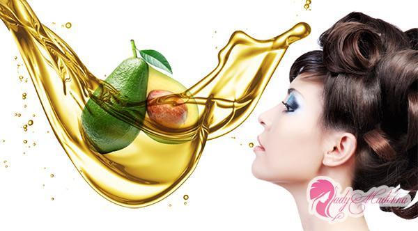 масло полезно и для кожи головы