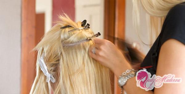 технологии наращивания волос ультразвуком