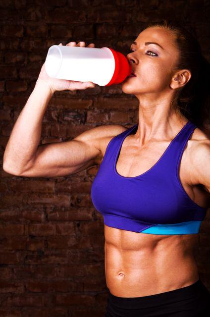 правила спортивного питания для женщин