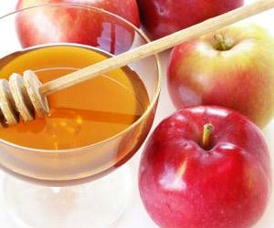 маска с яблочным пюре