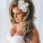 Простая свадебная прическа для длинных волос
