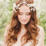 свадебные прически на длинные распущенные волосы