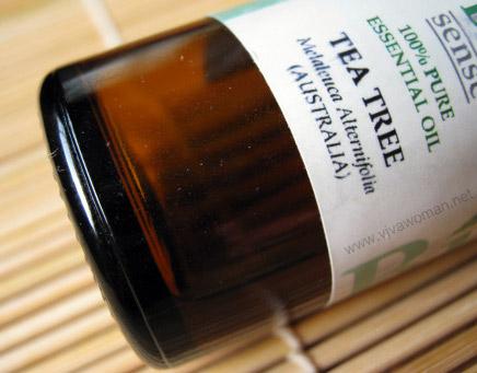 упаковка масла tea tree