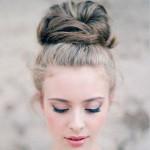 вечерние прически средние волосы фото