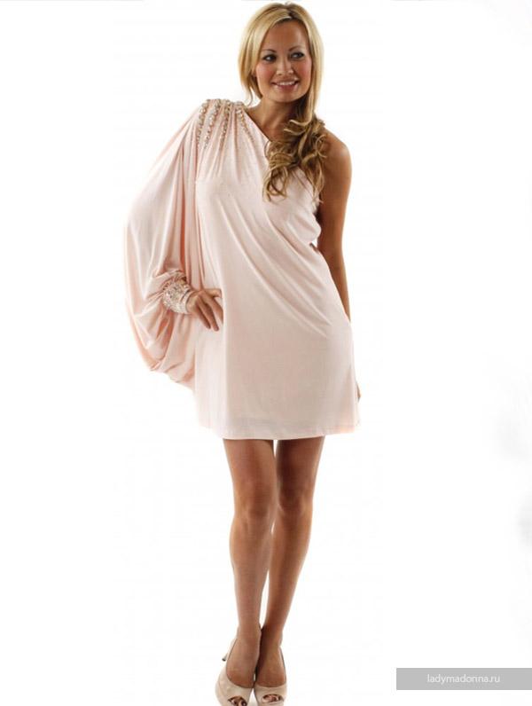новогоднее платье из шелка
