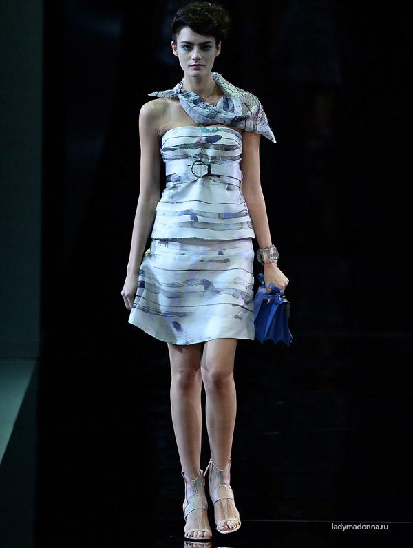 новогоднее платье от Армани
