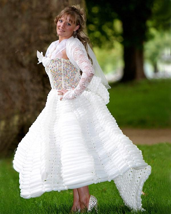 Самые странные свадебные платья