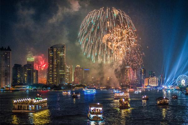новый год 2017 в Банкоке