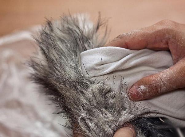 Как правильно чистить натуральный и искусственных мех