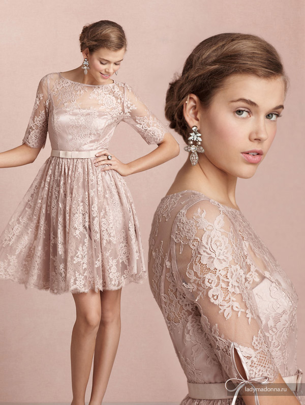 простое и изящное платье на НГ