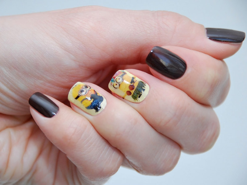 наклейки фото дизайн для ногтей