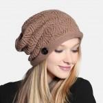 вязанные шапки зима 2015