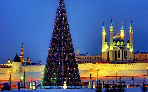 Новогодняя елка Казань 2017