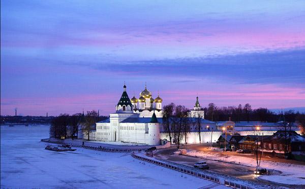 новогодняя Кострома 2017