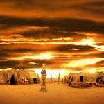 новый год в пустыне