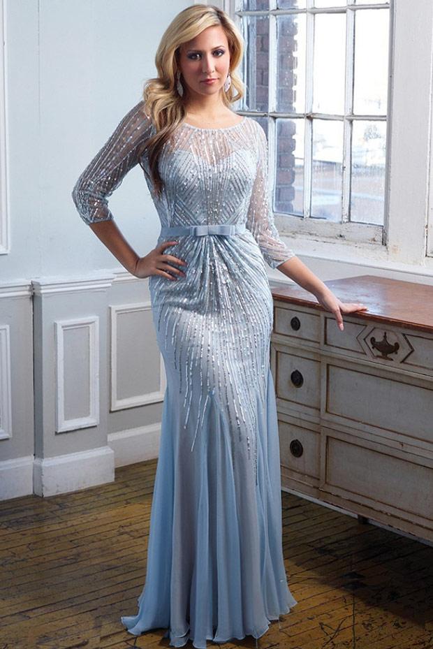 очень красивое новогоднее платье