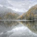 озеро Рица на Новый Год в Абхазии