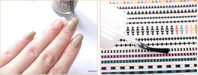 Нанесите базовый слой лак на ногти. Если рисунок вы распечатали самостоятельно на специальной бумаге его нужно порыть прозрачным лаком. Если у вас готовые наборы - этот шаг можно пропустить.