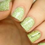 дизайн стампинга для коротких ногтей