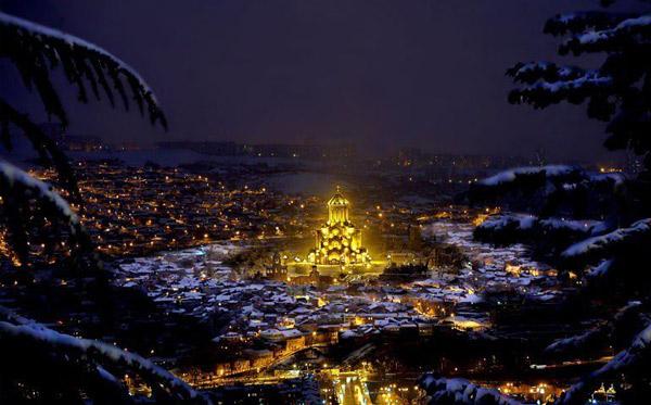 Новый год 2017 в Тбилиси
