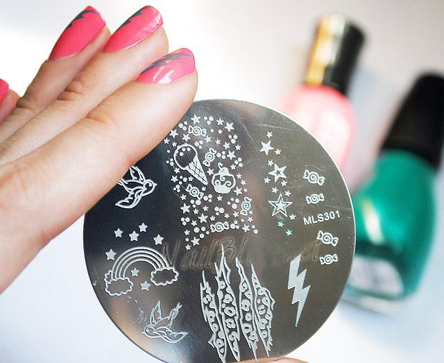 Как сделать рисунок штампом на ногтях фото 410