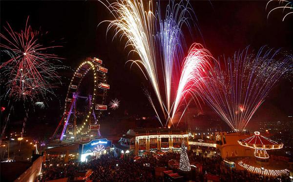 недоргой новый год в Австрии