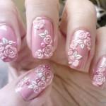 рисунки на ногтях для невесты
