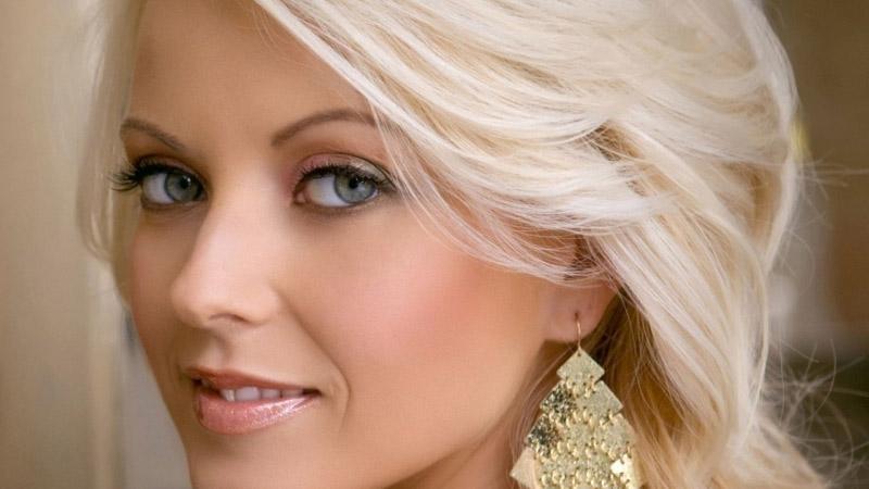 макияж для голубых глаз и блондинок волос