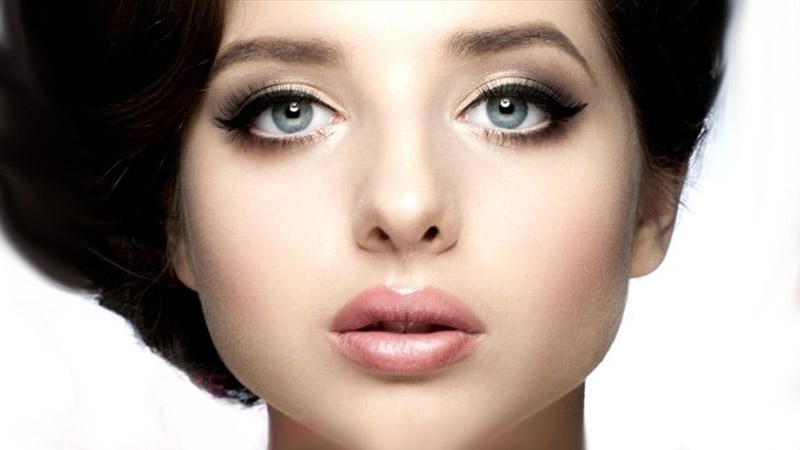 макияж для голубоглазых красавиц