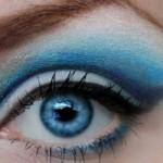 Тонкости макияжа для голубоглазых красавиц
