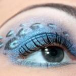 макияж для голубоглазых блондинок
