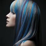 колорирование на средние волосы