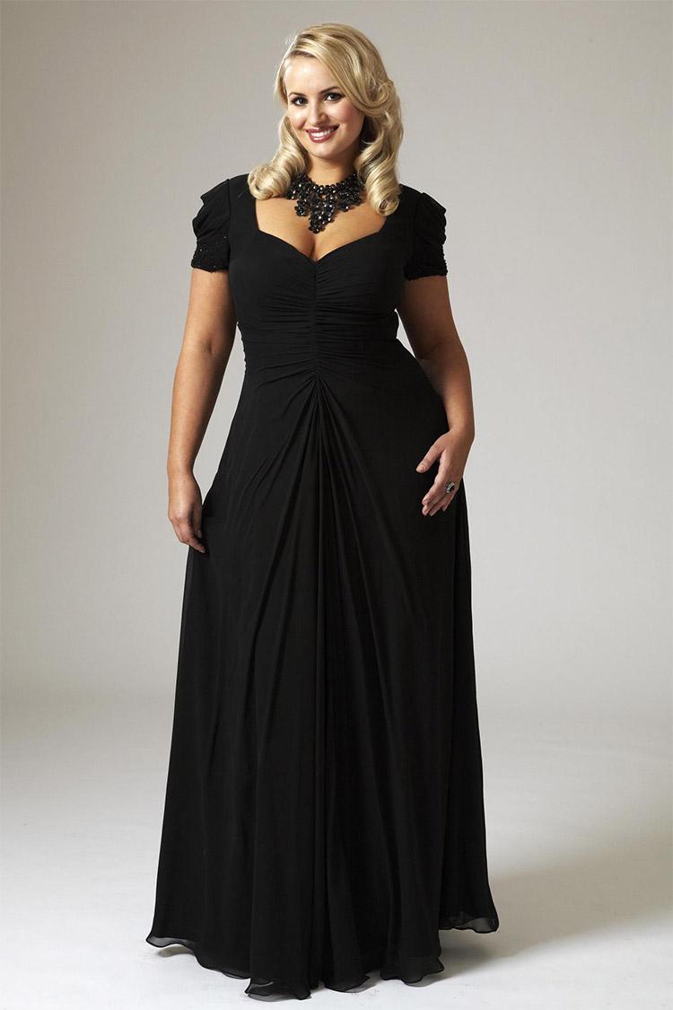 Платье с корсетом фото для полных