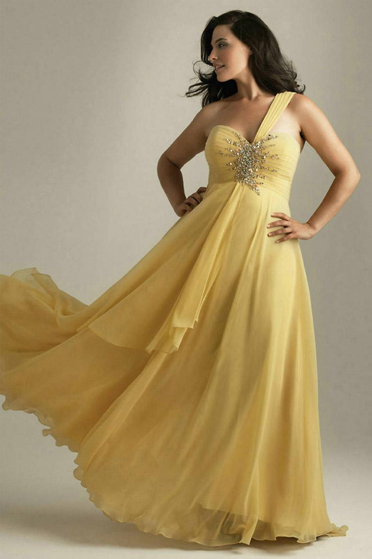 длинное вечернее платье XL