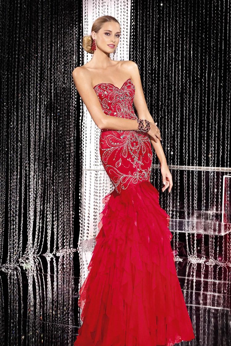длинное вечернее платье на выпускной