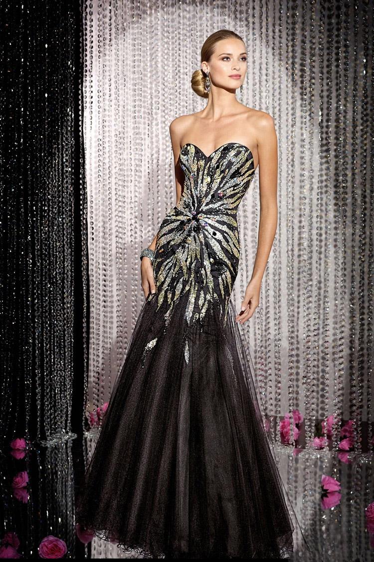 длинное вечернее платье открытой спиной