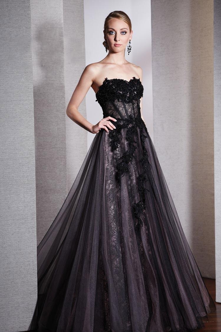 длинное вечернее платье расклешенное