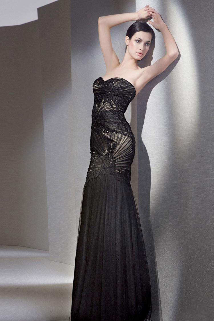длинное вечернее платья анжелины джоли