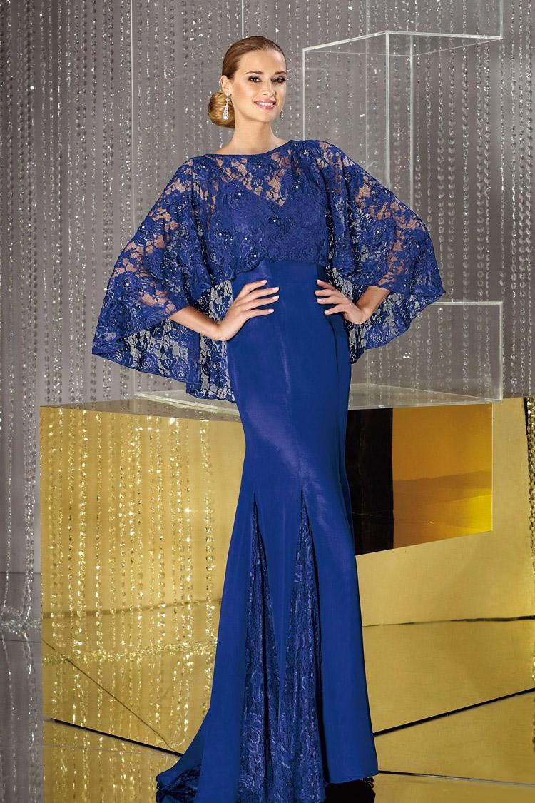 длинное вечернее платье приталенное 2016