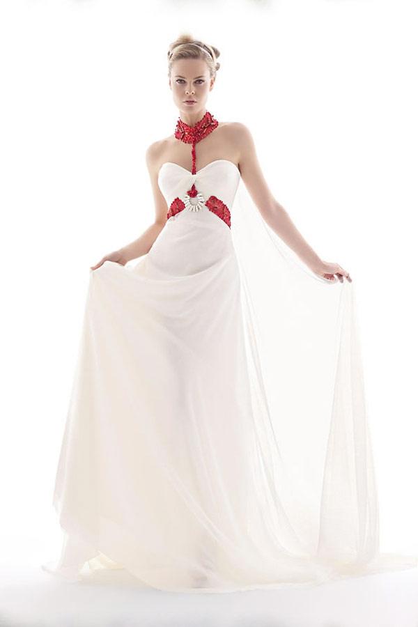 свадебное платье в стиле ампер