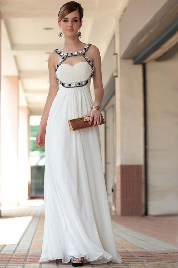 платье невесты с высоко талией
