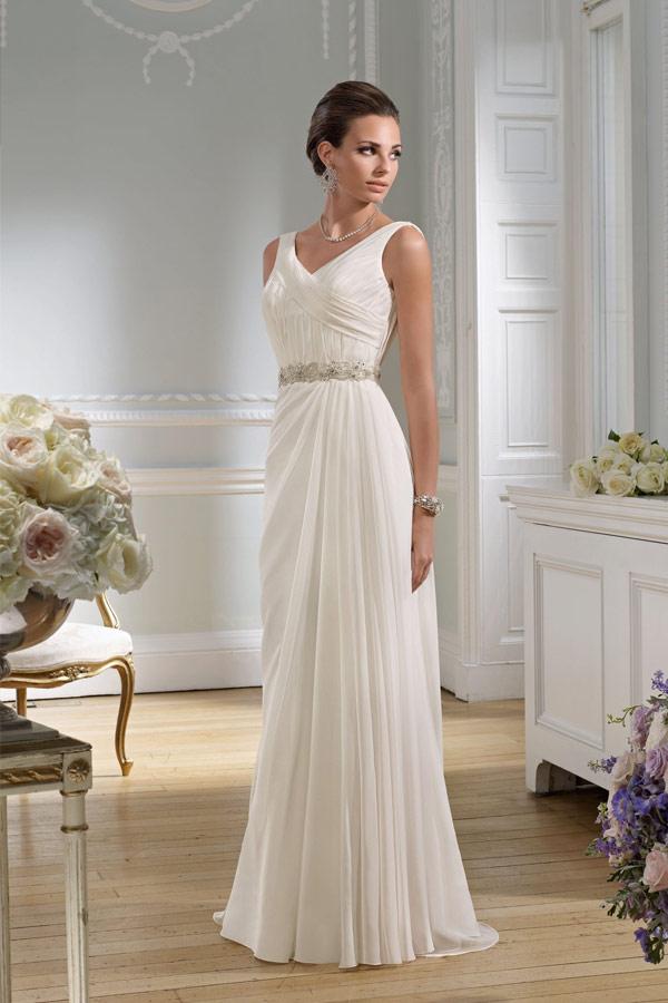 Невеста в греческом платье