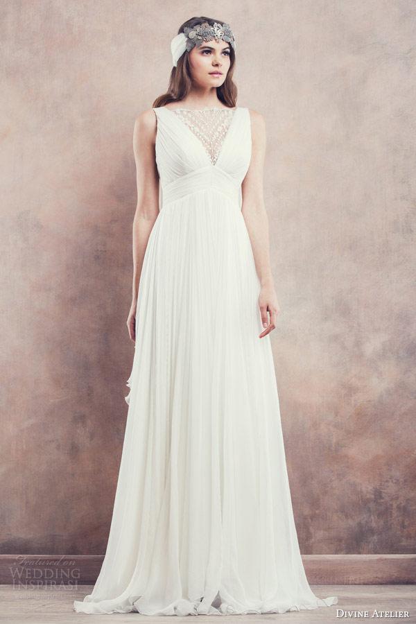 идеальное платье для свадьбы в стиле Империя
