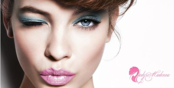 макияж для голубых гляз