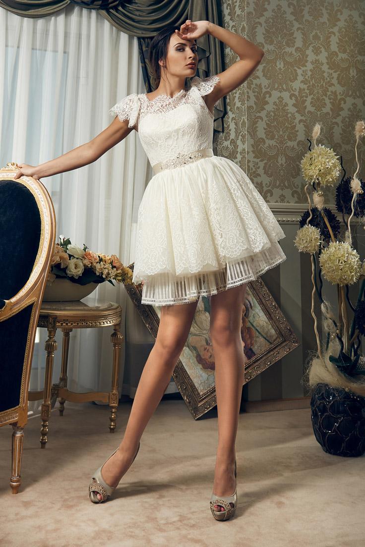 мини свадебное платье не дорогое