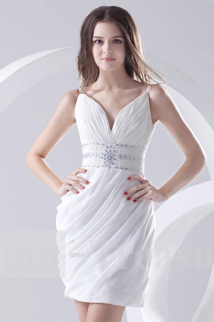 модное короткое свадебное платье