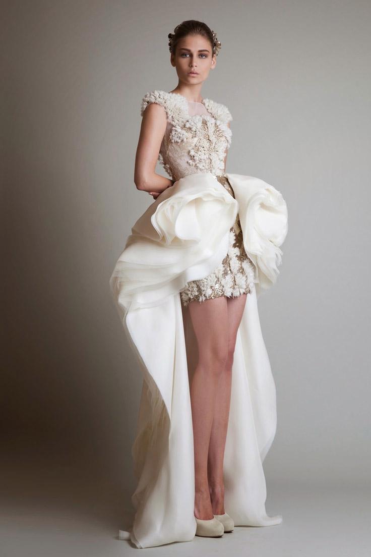 короткое мини свадебное платье с кружевами